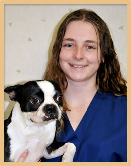 Brittany Hartshorn, Veterinary Technician and Groomer